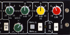 Limiter im Channel Strip ToolKit