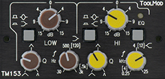 2-Band-Equalizer, Version h