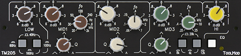 5-Band Stereo Mastering Equalizer Version h