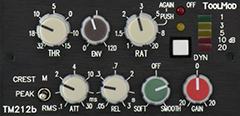 Stereo VCA Compressor Version h