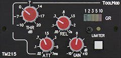 Stereo Peak Limiter Version h