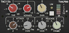 Stereo Mastering Peak Limiter Version h